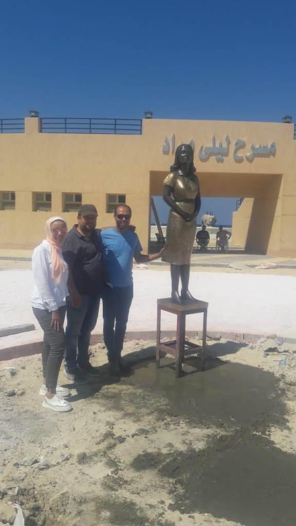 53606-محافظة-مطروح-تحيي-ذكرى-ليلى-مراد-بتمثال-برونزي---(6)