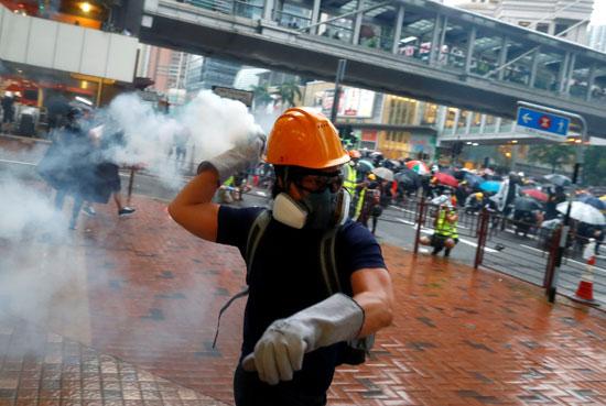 احتجاجات-هونج-كونج