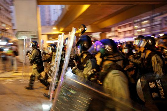 شرطة هونج كونج