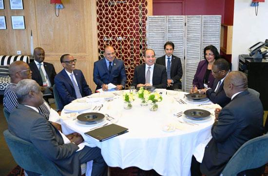 السيسى يستضيف رؤساء رواندا والسنغال وجنوب افريقيا (2)