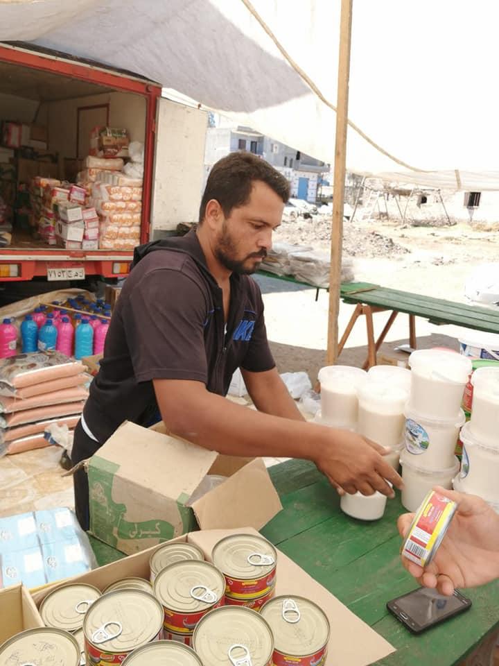 قافلة للسلع الغذائية بقرية برياض كفر الشيخ  (7)