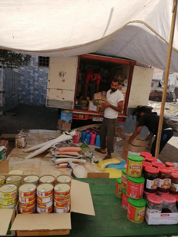 قافلة للسلع الغذائية بقرية برياض كفر الشيخ  (5)