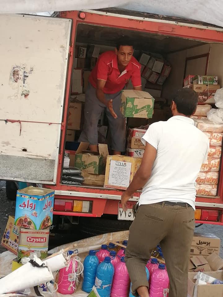 قافلة للسلع الغذائية بقرية برياض كفر الشيخ  (2)