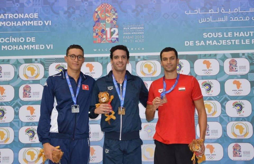 احمد اكرم يتوج بالذهبية