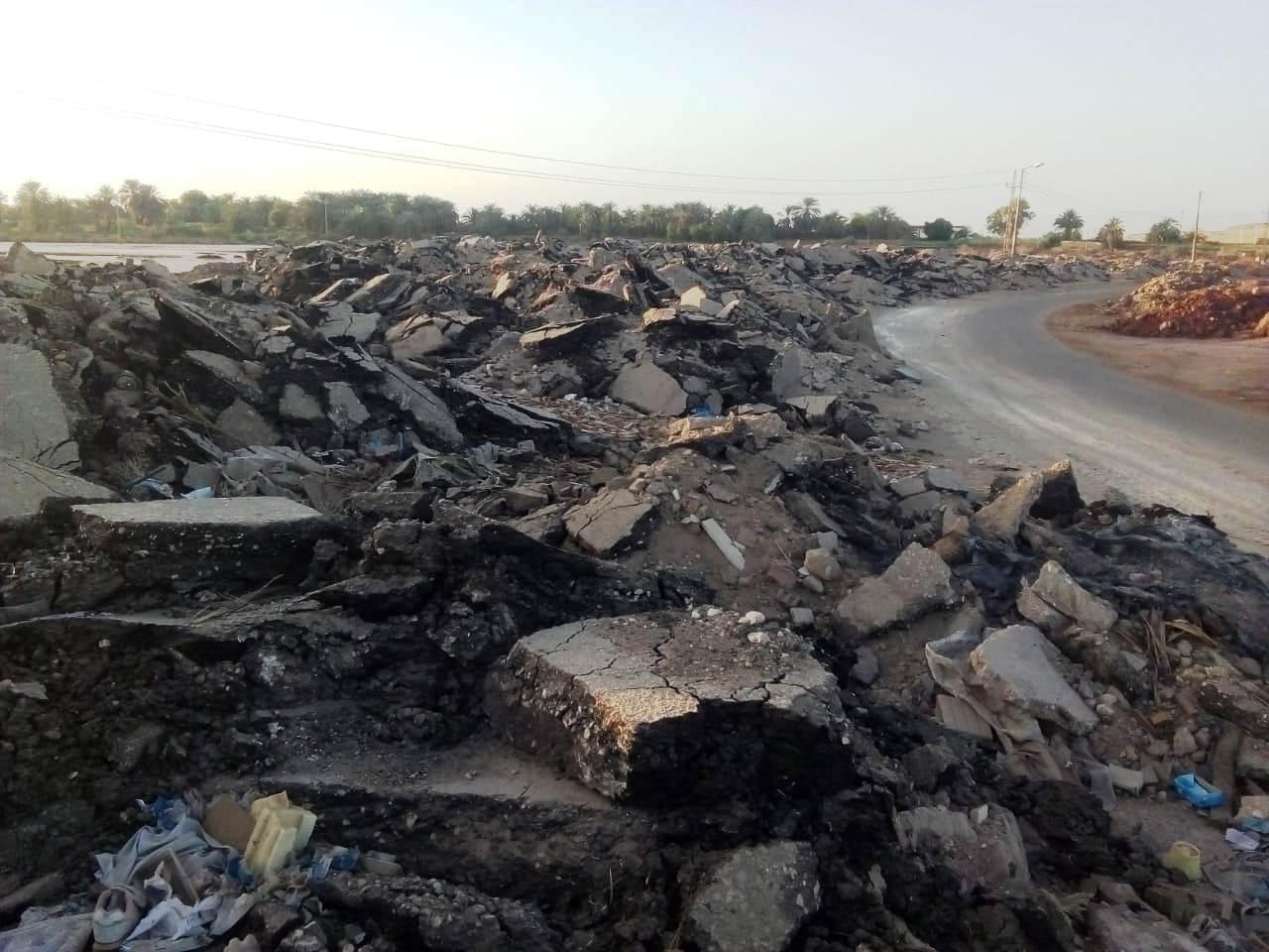 الطريق الدائرى الغربى بمدينة موط بالداخلة (14)
