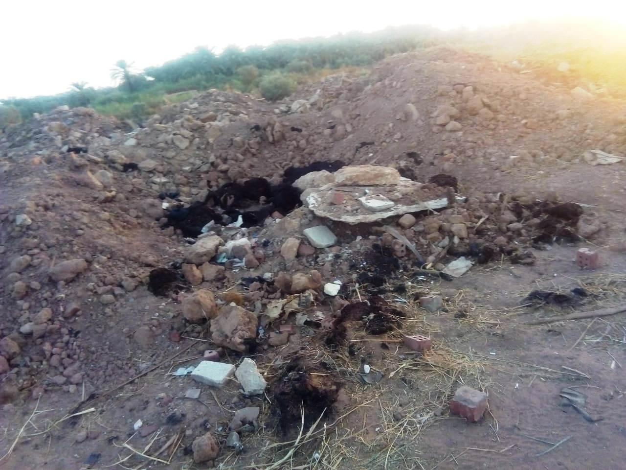 الطريق الدائرى الغربى بمدينة موط بالداخلة (13)