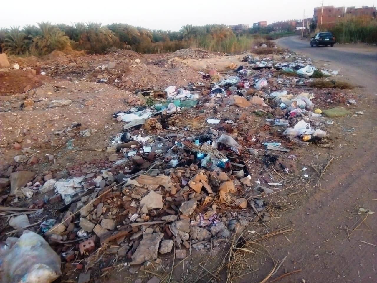 الطريق الدائرى الغربى بمدينة موط بالداخلة (9)