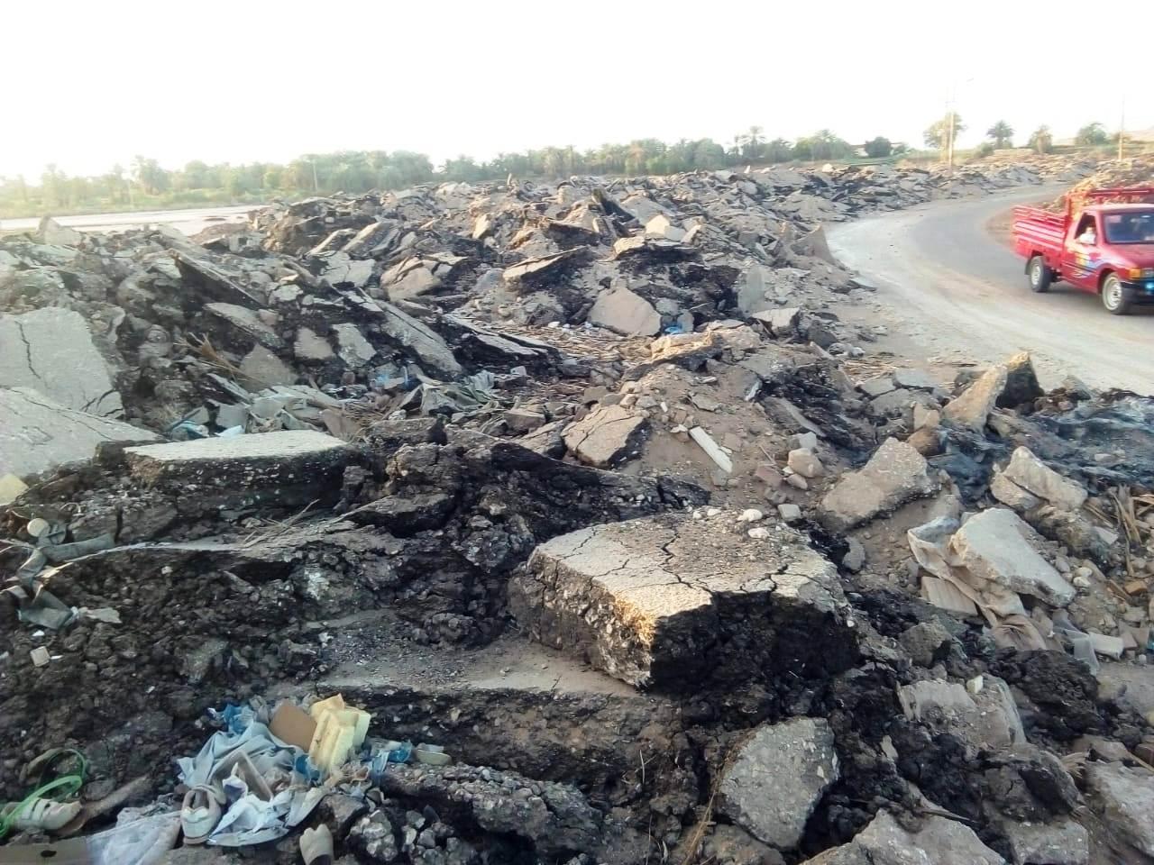 الطريق الدائرى الغربى بمدينة موط بالداخلة (15)