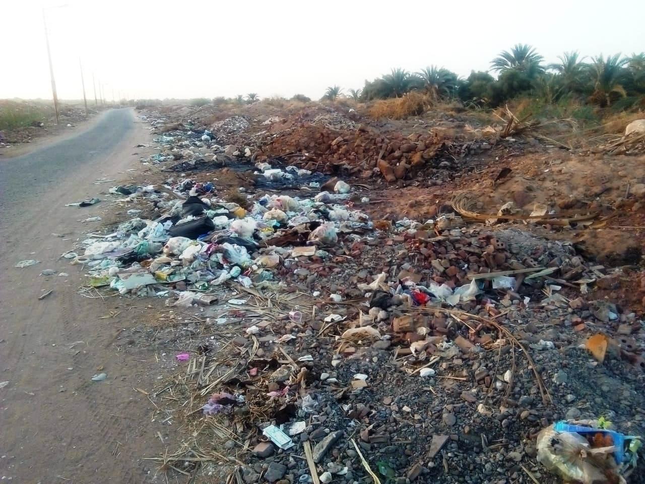 الطريق الدائرى الغربى بمدينة موط بالداخلة (6)