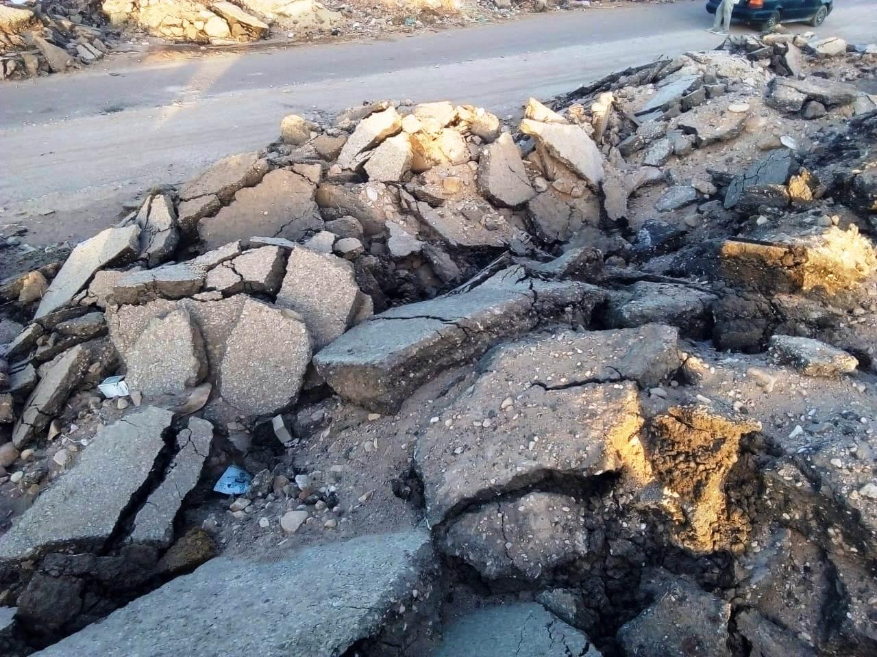 الطريق الدائرى الغربى بمدينة موط بالداخلة (16)