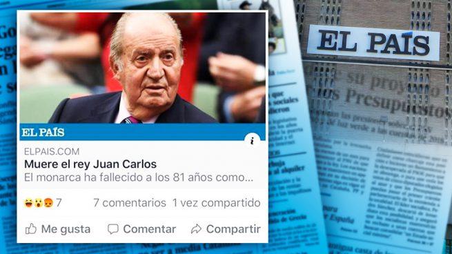 الباييس تنشر خبر وفاة ملك اسبانيا بالخطأ