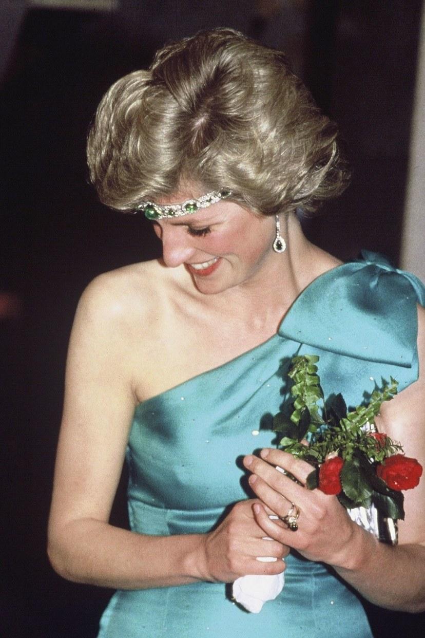 ديانا ، أميرة ويلز ، 1985.