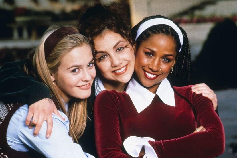 أليسيا سيلفرستون ، بريتاني ميرفي وستايسي داش  عام 1995.