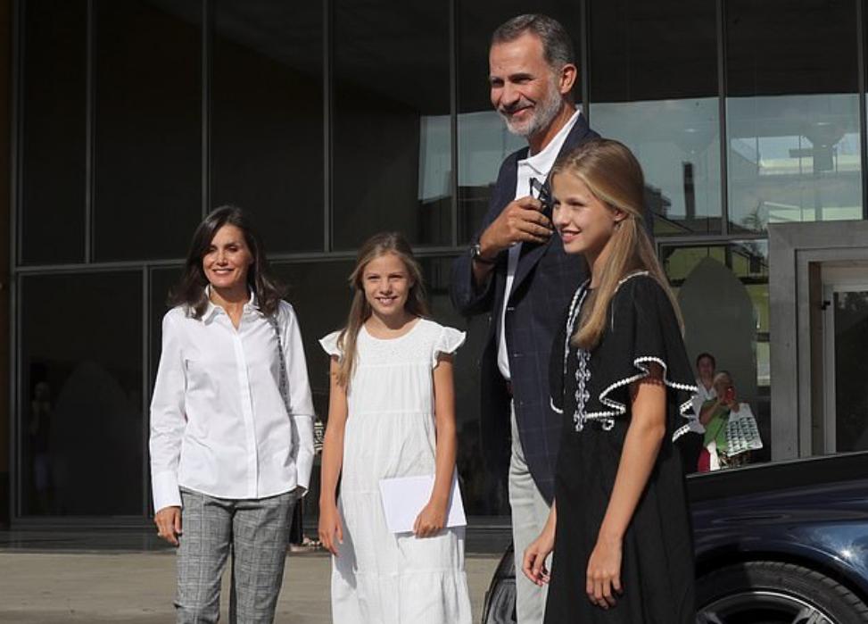 العائلة الملكية الإسبانية