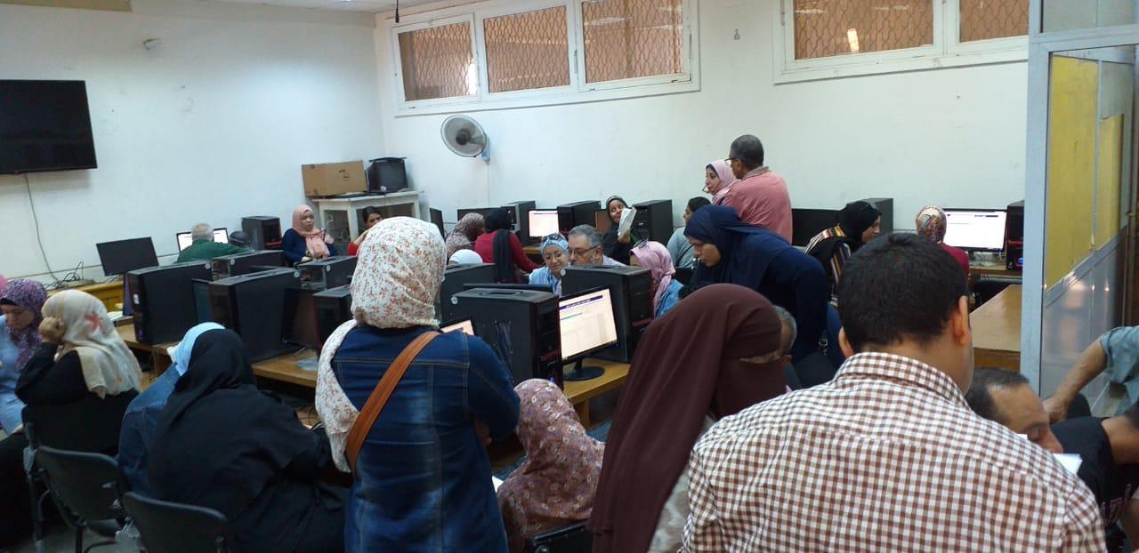 جامعة عين شمس تواصل استقبال طلاب المرحلة الثالثة للتنسيق (2)