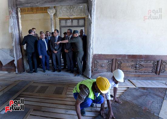 أعمال ترميم قصر البارون (9)