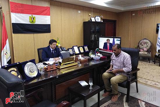 الدكتور سيد دعدور رئيس جامعة دمياط (4)