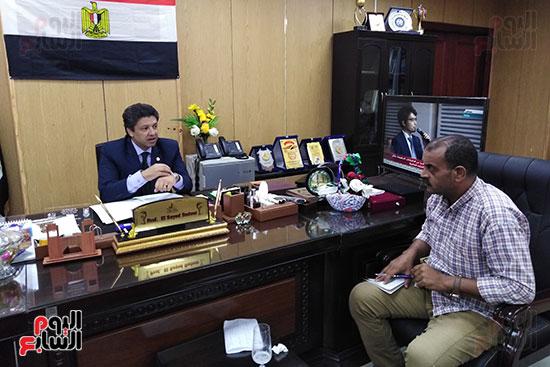 الدكتور سيد دعدور رئيس جامعة دمياط (6)
