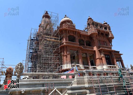 أعمال ترميم قصر البارون (7)