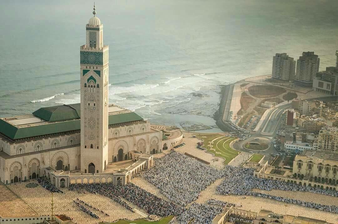 لؤلؤة الدار البيضاء مسجد الحسن الثانى