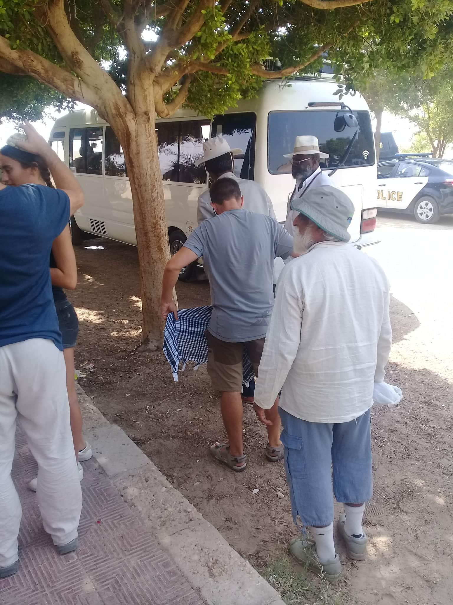 وفود سياحية تزور آثار تل العمارنة (3)