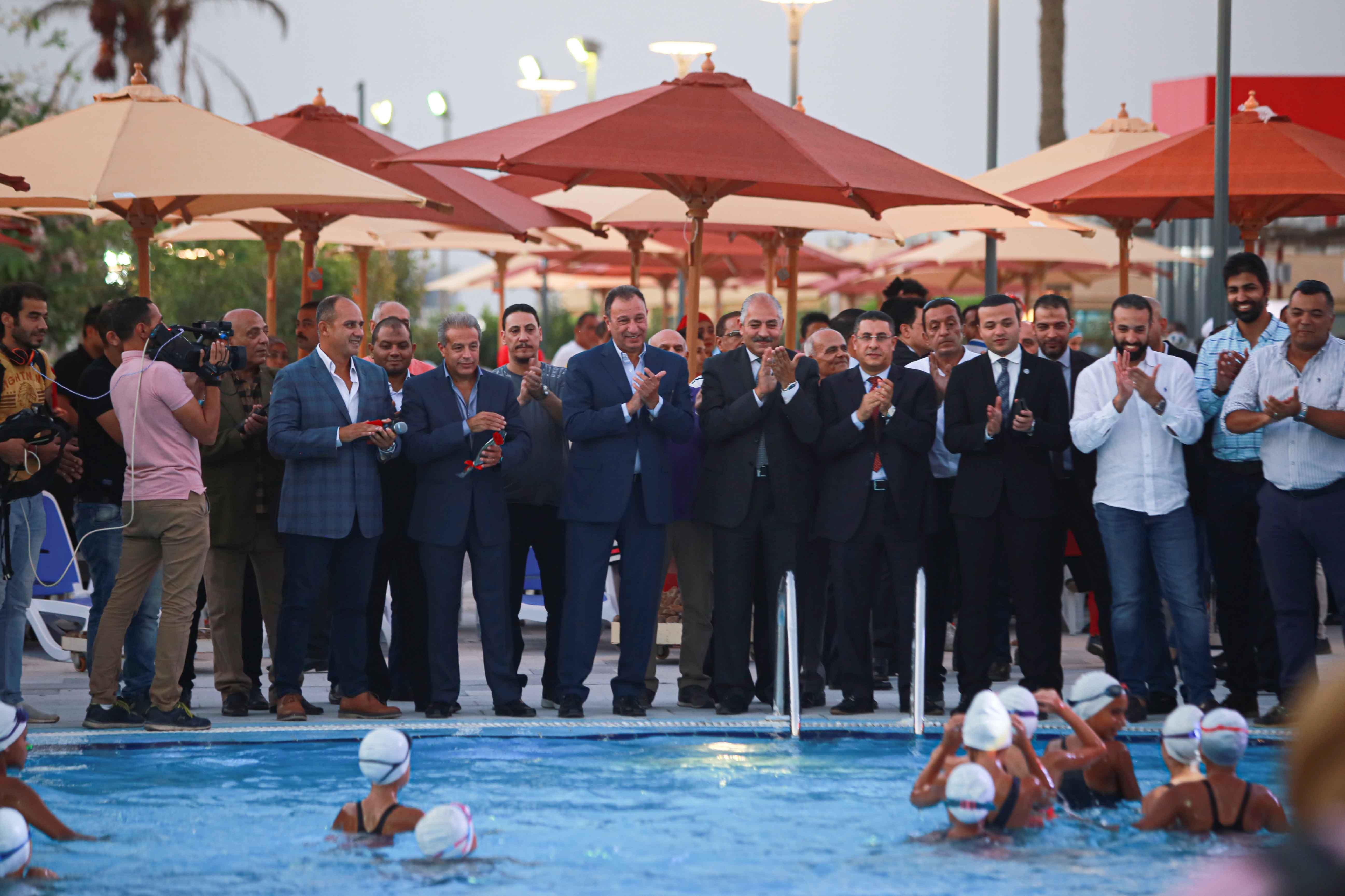 مجلس الاهلي يفتتح المنطقة الترفيقية بفرع  مدينة نصر (3)