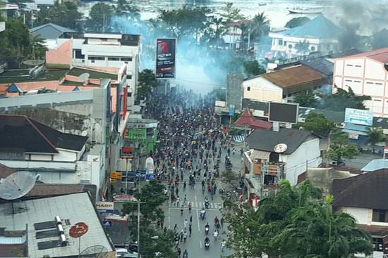 اشتباكات فى إندونيسيا (1)
