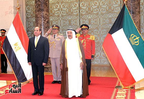 79456-السيسى-فى-الكويت-(4)