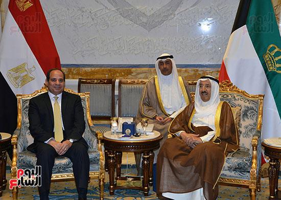 الرئيس السيسي فى الكويت 2017