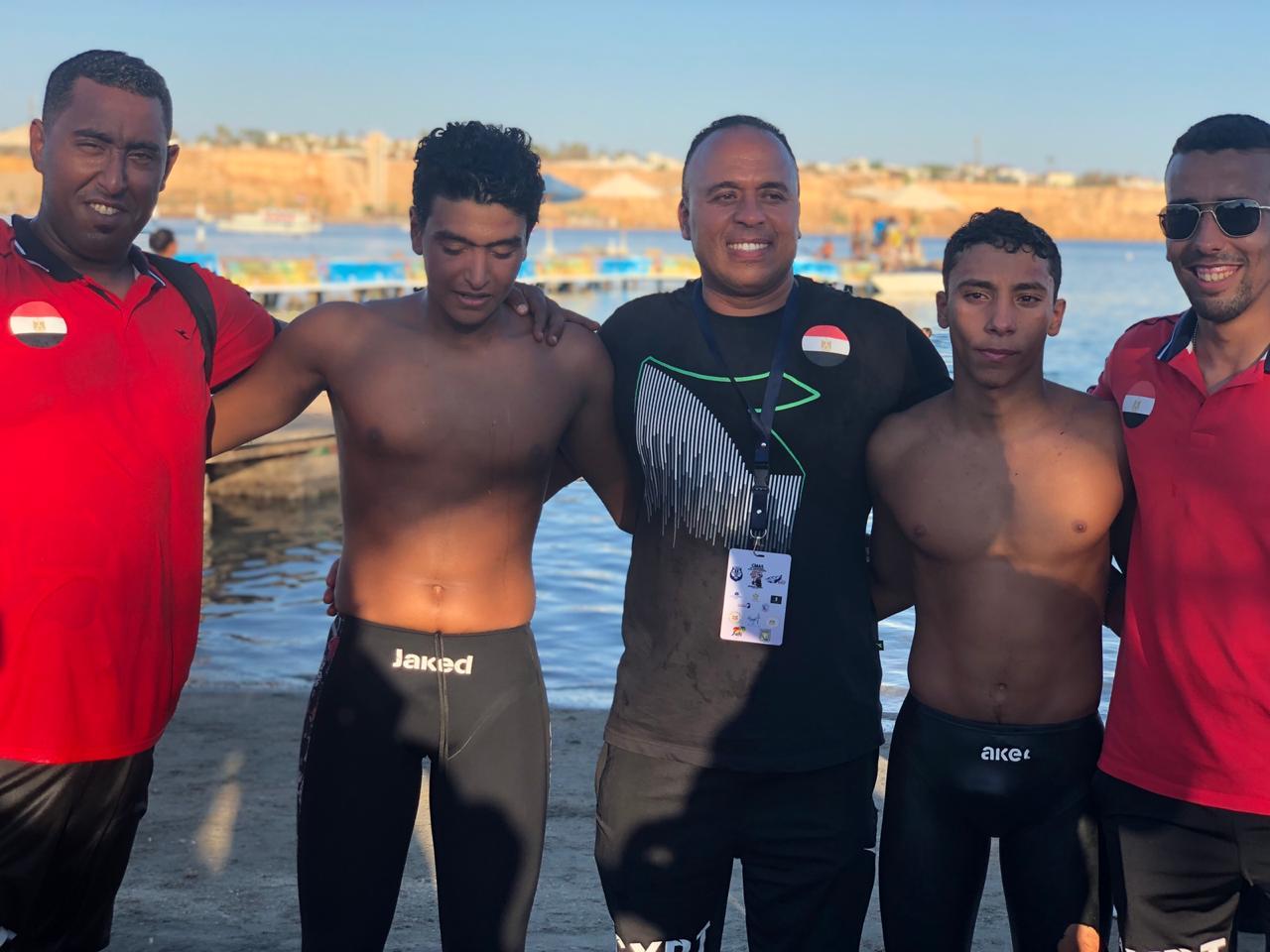 المنتخب الوطنى للسباحة بالزعانف (7)
