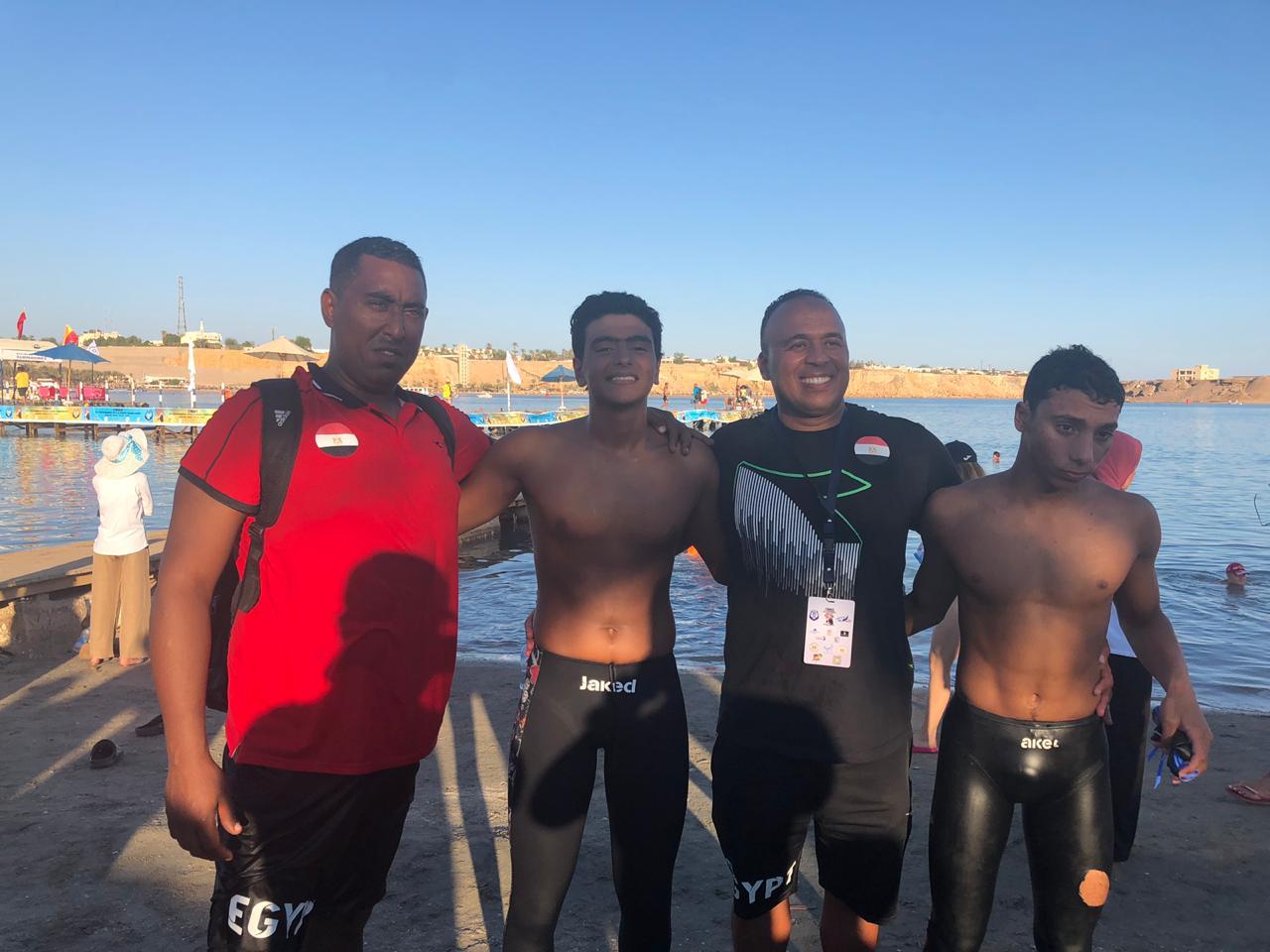 المنتخب الوطنى للسباحة بالزعانف (2)