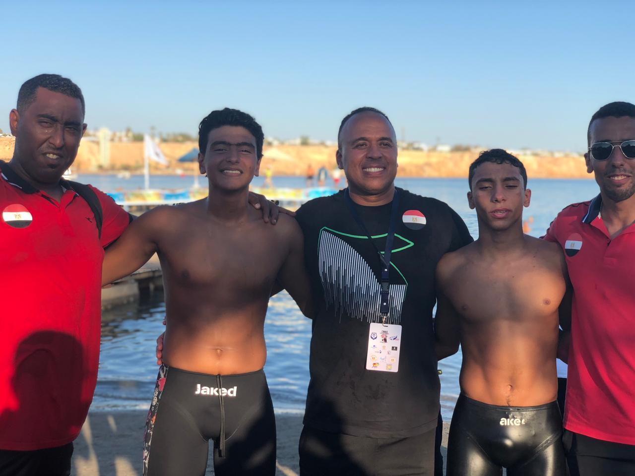 المنتخب الوطنى للسباحة بالزعانف (8)