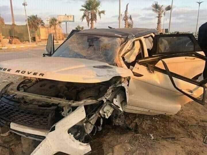 إصابة عمرو زكي نجم الكرة السابق في حادث سيارة بالساحل الشمالي (3)