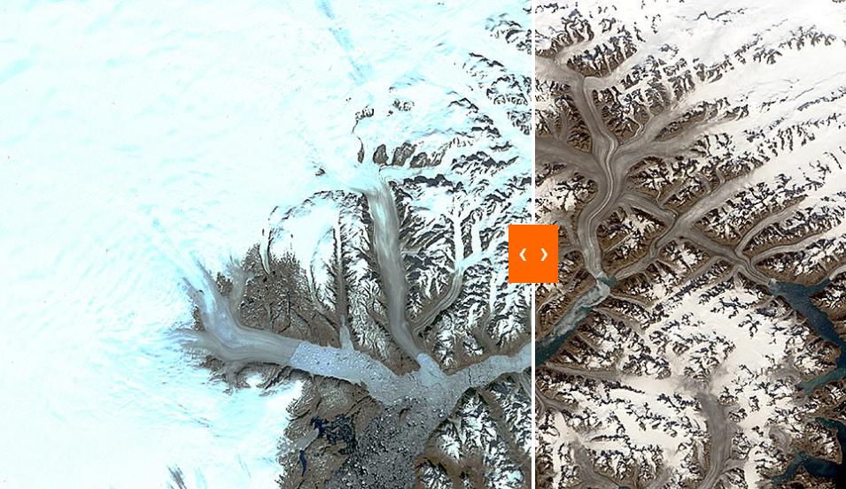 الاختلاف فى جرينلاند