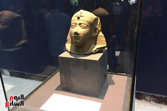 رأس-تمثال-فرعونى