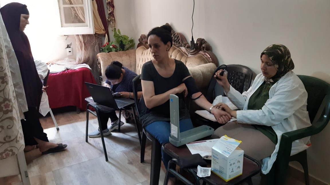 قافلة طبية بقرية الزوايدة (3)