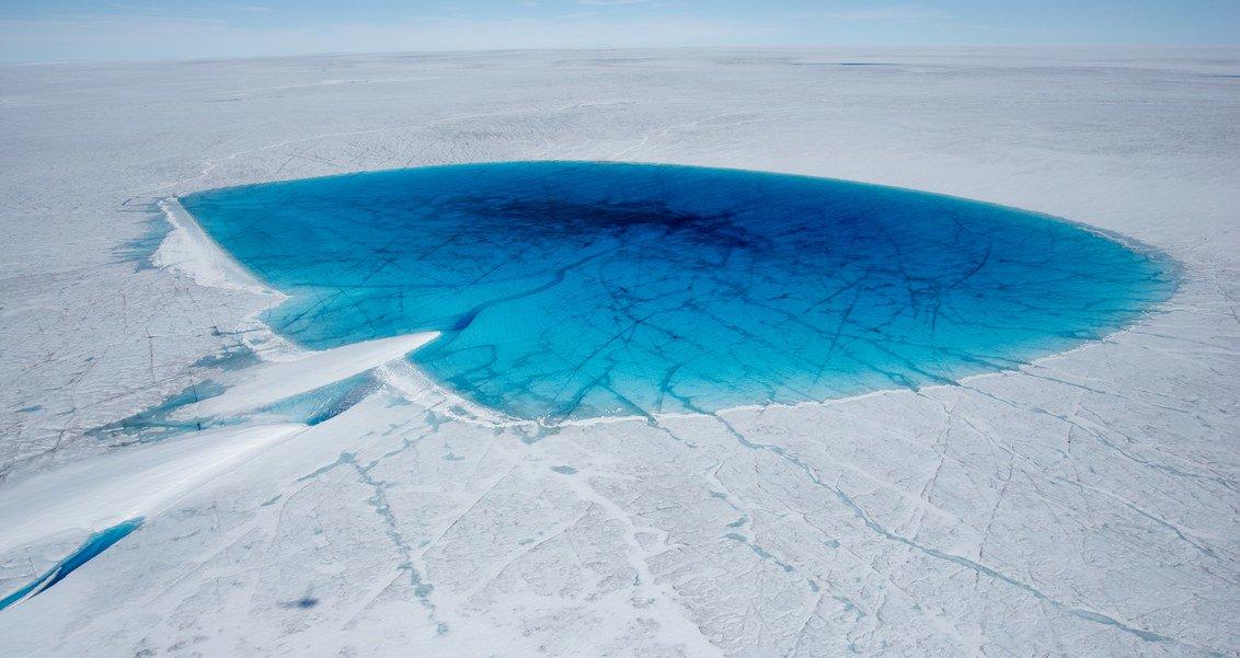 ذوبان الجليد فى جرينلاند (2)