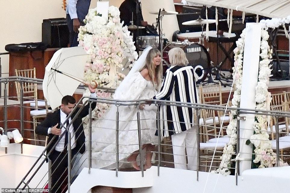 من حفل زفاف هيدي كلوم و كوليتز (11)