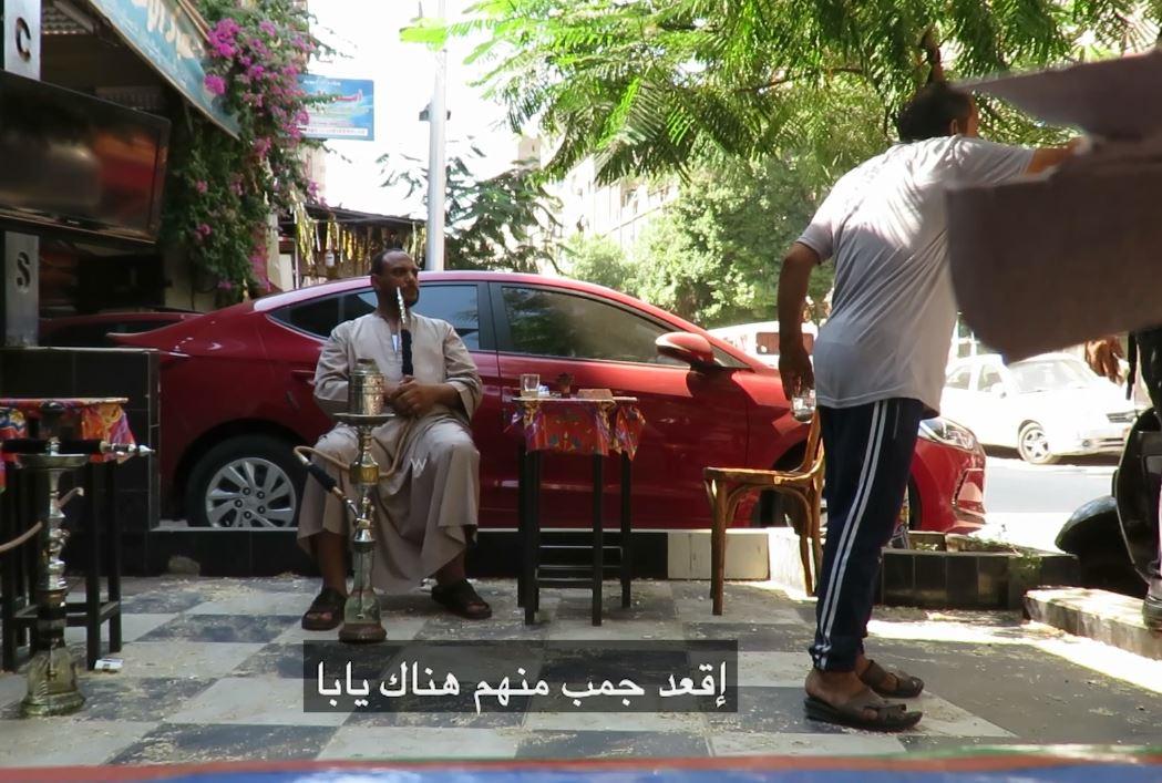 محرر اليوم السابع في إحدى القهاوي (4)