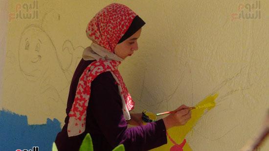 قوافل حياة كريمة بقرية ههيا (16)