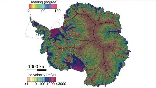 الخريطة الجديدة للجليد