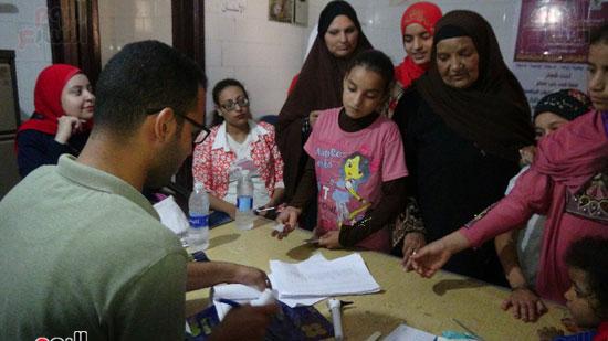قوافل حياة كريمة بقرية ههيا (11)