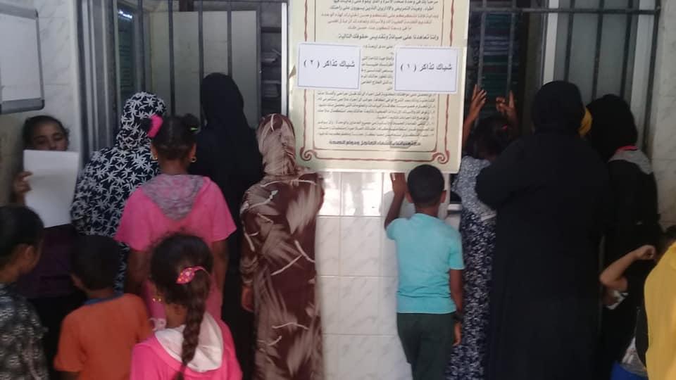 رئيس مدينة الطود تفقد قافلة طبية للصحة خلال فحصها 350 مواطن من أهالي قرية منشية النوبة  (7)