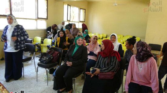 قوافل حياة كريمة بقرية ههيا (1)
