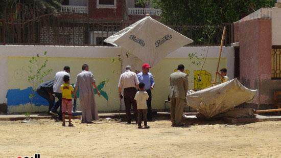 قوافل حياة كريمة بقرية ههيا (14)