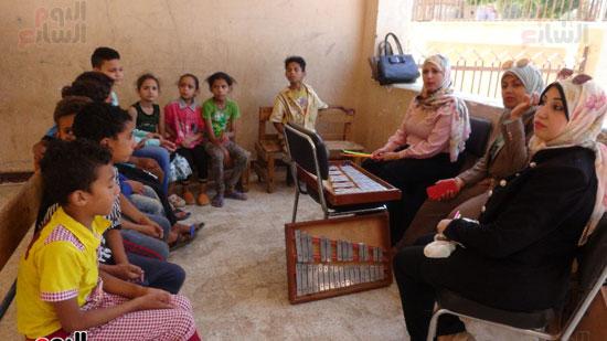 قوافل حياة كريمة بقرية ههيا (15)