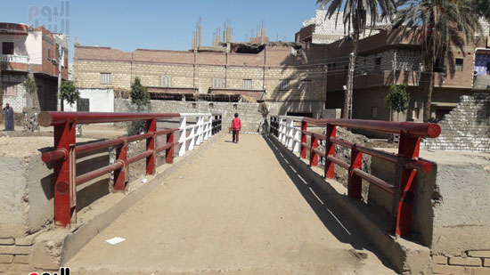 تجميل-مدخل-الكوبري-للبلد