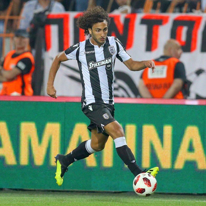 عمرو وردة لاعب باوك
