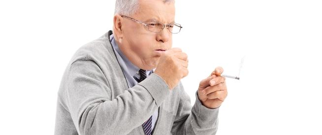 علاج السعال الناتج عن الندخين