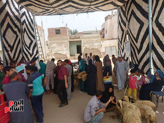 حياة-كريمة-تتواصل-لدعم-الفقراء-والقري-الأكثر-إحتياجاً-بمحافظات-مصر-(16)